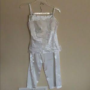 NWT stunning sequin pajamas size S